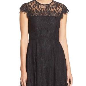 BB Dakota 'Rhianna' Illusion Yoke Dress, 0
